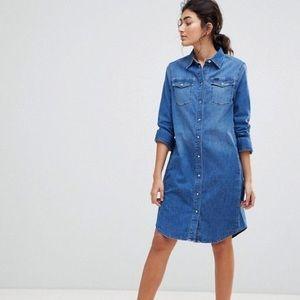 Denim button up shirt dress - Lee Jeans